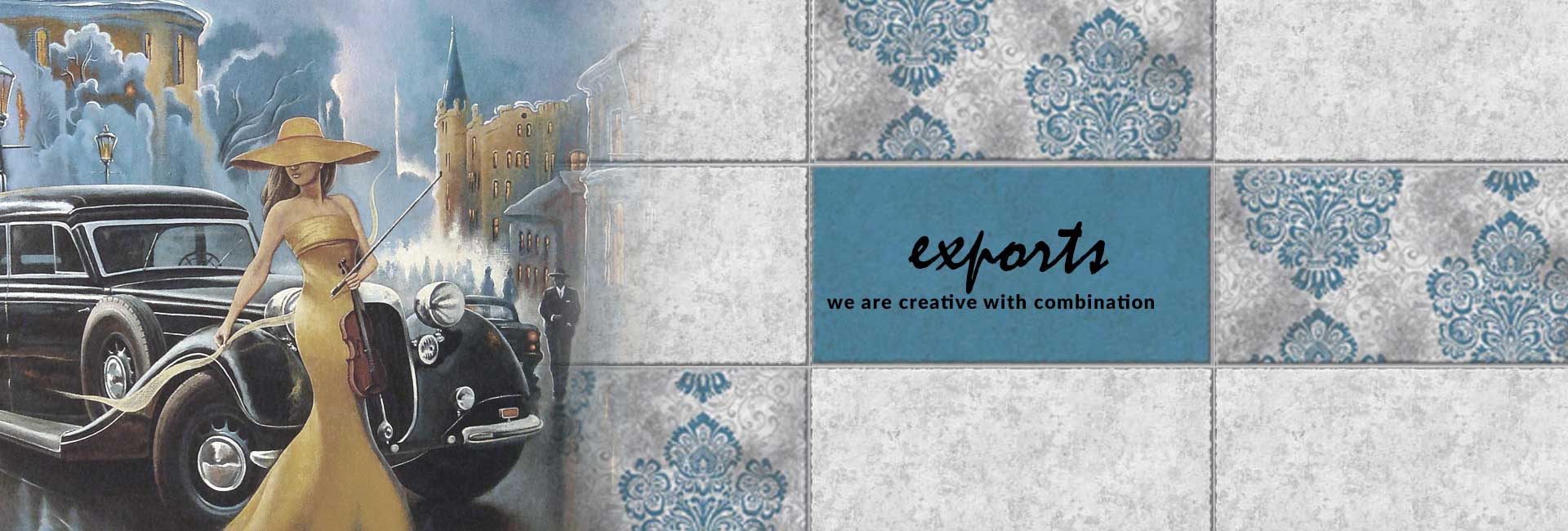 High Quality Tile Exporter in India – L World International